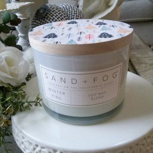 """NEW! LARGE 2 WICK Candle """"Winter Pine"""" SO PRETTY"""